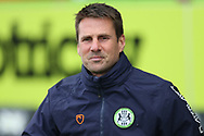 Interim manager Jimmy Ball during the EFL Sky Bet League 2 match between Forest Green Rovers and Newport County at the New Lawn, Forest Green, United Kingdom on 23 May 2021.