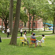Harvard Yard panorama