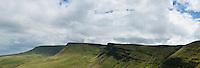 Fan Foel, Picws Du and Bannau Sir Gaer ridge; Black mountain; Brecon Beacons national park; Wales