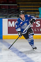 KELOWNA, CANADA - DECEMBER 30:Matthew Phillips #11 of the Victoria Royals warms up against the Kelowna Rockets  on December 30, 2016 at Prospera Place in Kelowna, British Columbia, Canada.  (Photo by Marissa Baecker/Shoot the Breeze)  *** Local Caption ***