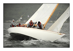 Day four of the Fife Regatta, race from Tighnabruaich to Portavadie<br /> <br /> Saskia, 13, Murdoch McKillop, GBR, Bermudan Sloop, Wm Fife 3rd, 1931<br /> <br /> * The William Fife designed Yachts return to the birthplace of these historic yachts, the Scotland's pre-eminent yacht designer and builder for the 4th Fife Regatta on the Clyde 28th June–5th July 2013<br /> <br /> More information is available on the website: www.fiferegatta.com