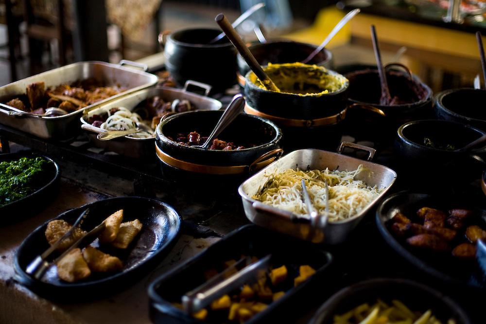 Domingos Martins_ES, Brasil...Detalhe da comida do restaurante Caminho do Imigrante...The food detail of the Caminho do Imigrante restaurant...Foto: LEO DRUMOND / NITRO