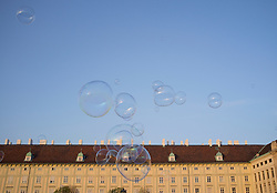 Leopoldinischer Trakt Vienna bubble floating air