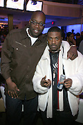 """Mike Kyser and Ray J at """" The P. Diddy presents Bad Boy Entertainment Night """" at Spotlight NYC featuring performances by Cherri Dennis and Vanity Kane on January 29, 2008"""