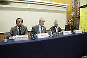BARCELONA, SPAIN, 2015, NOVEMBER 19 <br /> <br /> Johan Cruyff has appeared for the first time in public, laid back, since last October suffering from lung cancer was known. The legendary former player and coach took part in the presentation of the agreement it has signed its Institute, the Johan Cruyff Institute, UAB (Autonomous University of Barcelona). It is a collaboration that will allow, among others, provide jointly a Masters in sports management, and the creation of a research chair to ensure the employment of athletes once you have finished your sporting stage. Cooperation is also open through the foundations of both institutions (Johan Cruyff Foundation and Fundació Autònoma Solidaria) to help people with disabilities integrate into the field of sport<br /> ©Exclusivepix Media