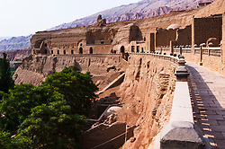Bezeklik Caves, Thousand Buddha Caves, Turpan, Xinjiang, China