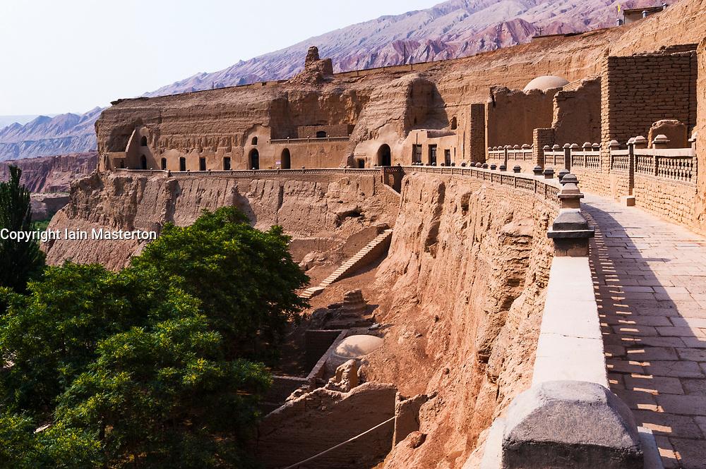 Bezeklik Caves, Thousand Buddha Caves, Turpan, Xinjiang, China