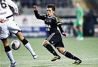 Fotball, 18. november 2012 ,Tippeligaen , Eliteserien Hønefoss - Rosenborg<br /> Jaime Enrique Alas Morales  , RBK