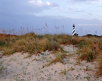 AA03209-02...NORTH CAROLINA - Sunrise at Cape Hatteras Lighthouse in Cape Hatteras National Seashore on the Outer Banks.