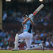 Braith Anasta in action during Australia's Big Bash Cricket match to raise money for the Victorian Bushfire Appeal at the Sydney Cricket Ground, Sydney, Australia on February 22, 2009. The match was attended by over 20,000 spectators. Photo Tim Clayton
