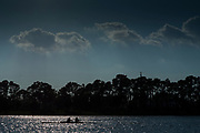 Sarasota. Florida USA. General view of the boating area with crews boating for and evening training session. 2017 FISA World Rowing Championships, Nathan Benderson Park<br /> <br /> Sunday  17.09.17   <br /> <br /> [Mandatory Credit. Peter SPURRIER/Intersport Images].<br /> <br /> <br /> Leica Camera AG -  LEICA M (Typ 262)  lens  not selected mm. 100 ISO 1/1500/sec. f 4.8 © Peter SPURRIER, Atmospheric, Rowing