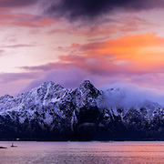 Litlmolla, is an island in the municipality of Vågan in Nordland county, Norway. The island lies east of Svolvær in the Vestfjorden. The island is located south of the large island of Austvågøya and Stormolla and northeast of Skrova.