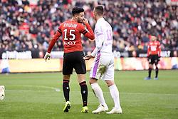 October 28, 2018 - Rennes, France - 15 RAMY BENSEBAINI  (Credit Image: © Panoramic via ZUMA Press)