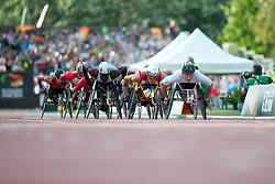 HUG Marcel, KIM Gyu Dae, SUI, KOR, 1500m, T54, 2013 IPC Athletics World Championships, Lyon, France