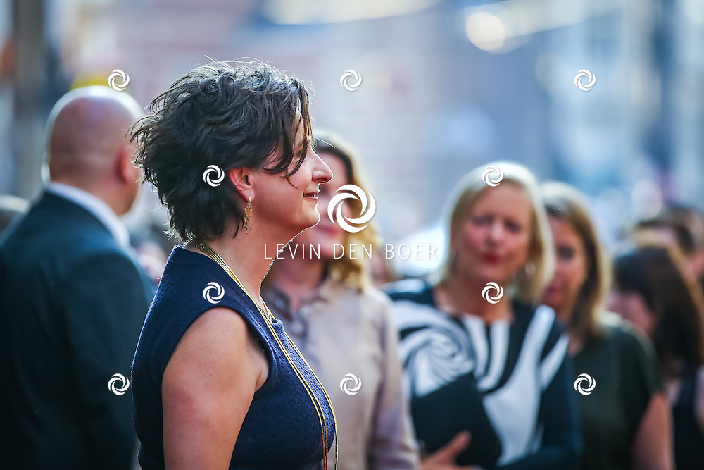 AMSTERDAM - De Nederlandse premiere van Elle, de nieuwste film van regisseur Paul Verhoeven. Met hier Jacqueline Blom op de rode loper. FOTO LEVIN & PAULA PHOTOGRAPHY