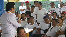 September 30, 2016 - Tanauan City, Batangas, Philippines - The city where the controversial 'walk of shame' for drug pushers and addicts had lined up various programs geared towards the full rehabilitation of the city's ''drug surrenderees''.First of such activities, entitled ''VALUES ENHANCEMENT AND PERSONALITY DEVELOPMENT'', was held on September 30, 2016 at Brgy. Poblacion 6, Tanauan City, Batangas.  Around 1,000 surrederees attended. (Credit Image: © Sherbien Dacalanio/Pacific Press via ZUMA Wire)