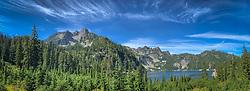 United States, Washington, Snow Lake