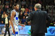 DESCRIZIONE : Campionato 2014/15 Dinamo Banco di Sardegna Sassari - Sidigas Scandone Avellino<br /> GIOCATORE : Jeff Brooks Romeo Sacchetti<br /> CATEGORIA : Fair Play<br /> SQUADRA : Dinamo Banco di Sardegna Sassari<br /> EVENTO : LegaBasket Serie A Beko 2014/2015<br /> GARA : Dinamo Banco di Sardegna Sassari - Sidigas Scandone Avellino<br /> DATA : 24/11/2014<br /> SPORT : Pallacanestro <br /> AUTORE : Agenzia Ciamillo-Castoria / M.Turrini<br /> Galleria : LegaBasket Serie A Beko 2014/2015<br /> Fotonotizia : Campionato 2014/15 Dinamo Banco di Sardegna Sassari - Sidigas Scandone Avellino<br /> Predefinita :