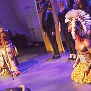 NLD/Amsterdam/20160216 - Musical The Lion King is terug!, cast, Rafiki en Simba