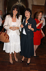 Left to right, GAIL REBUCK (Mrs  Philip Gould) chairman of Random House UK Ltd and VIVIENNE SCHUSTER at a party to celebrate the publication of Wicked - A Tale of Two Schools by Jilly Cooper held at Westminster School, Dean's Yard, London on 11th May 2006.<br /><br />NON EXCLUSIVE - WORLD RIGHTS