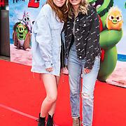 NLD/Amsterdam/20190814 - Premiere Angry Birds 2, Mimi Geusebroek en Naomi Sauer