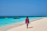 Tanzanie, archipel de Zanzibar, île de Unguja (Zanzibar), plage de Nungwi // Tanzania, Zanzibar island, Unguja, Nungwi beach