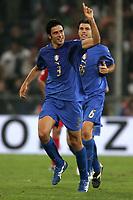 Genova 13/10/2007 Euro2008 Qualifying round - group B. qualificazioni Euro2008<br /> <br /> <br /> <br /> Italia Georgia - Italy Georgia 2-0<br /> <br /> <br /> <br /> Fabio Grosso Italia celebrates scoring<br /> <br /> <br /> <br /> Esultanza di Fabio Grosso dopo il gol<br /> <br /> <br /> <br /> Foto Andrea Staccioli Insidefoto