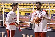 DESCRIZIONE : Torino Manital Auxilium Torino EA7 Emporio Armani Olimpia Milano<br /> GIOCATORE : Bruno Cerella Alessandro Gentile<br /> CATEGORIA : pregame<br /> SQUADRA : EA7 Emporio Armani Olimpia Milano<br /> EVENTO : Campionato Lega A 2015-2016<br /> GARA : Manital Auxilium Torino EA7 Emporio Armani Olimpia Milano<br /> DATA : 15/11/2015 <br /> SPORT : Pallacanestro <br /> AUTORE : Agenzia Ciamillo-Castoria/R.Morgano<br /> Galleria : Lega Basket A 2015-2016<br /> Fotonotizia : Torino Manital Auxilium Torino EA7 Emporio Armani Olimpia Milano<br /> Predefinita :