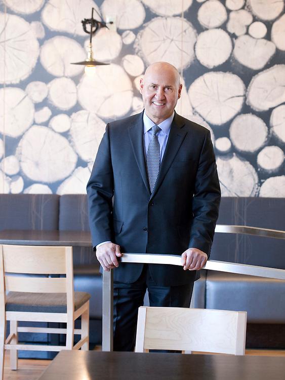 Ed Sirhal. President of Restaurant Associates. New York Cty.