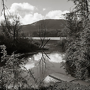 Inlet to Richmond Pond, Richmond MA, A source of the South West Branch of the Housatonic River