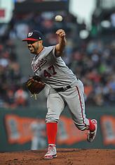 Nationals v Giants - 23 Apr 2018