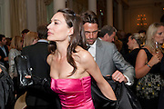 Dougray Scott; Claire Forlani, Langham Hotel party after a major renovation. Portland Place, London. 10 June 2009