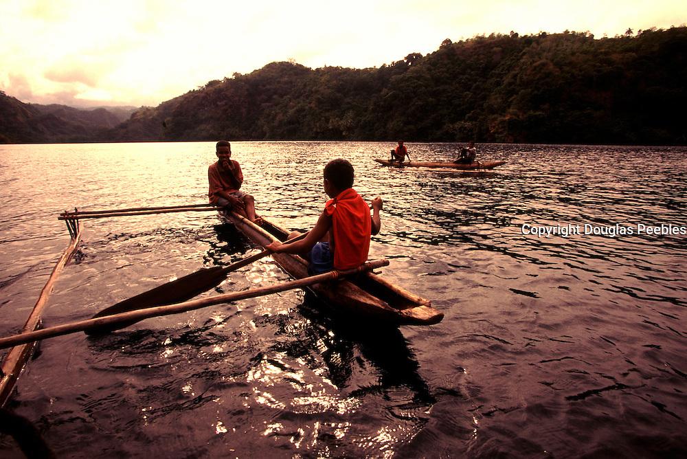 Outrigger Canoe, Tufi, Papua New Guinea<br />