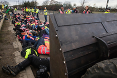 2019-12-08 XR Bikes Against Bulldozers Heathrow protest