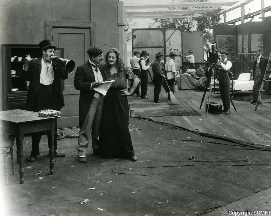 1917 Filming at Mack Sennett Studios