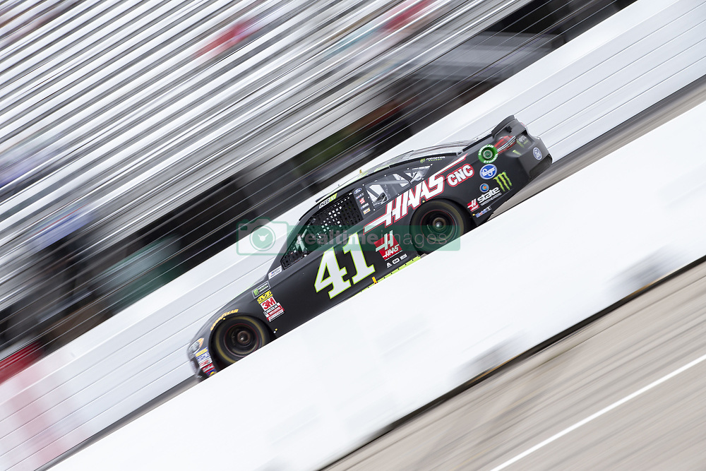 July 22, 2018 - Loudon, New Hampshire, United States of America - Kurt Busch (41) races off turn four during the Foxwoods Resort Casino 301 at New Hampshire Motor Speedway in Loudon, New Hampshire. (Credit Image: © Stephen A. Arce/ASP via ZUMA Wire)