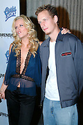 Jenny McCarthy & husband John Asher<br />Scary Movie 3 Premiere in Los Angeles<br />AMC Theatres Avco Cinema<br />Los Angeles, CA, USA <br />Monday, October 20, 2003<br />Photo By Celebrityvibe.com/Photovibe.com