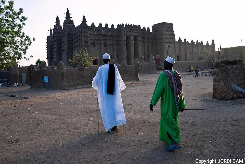 Great Mosque of Djenné. Djenné.Mopti region. Niger Inland Delta. Mali. West Africa.
