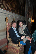 FREIDRICH VON BRUEHL; ANNA VON BRUEHL, Andrea Dibelius of the EMDASH Foundation hosts party to celebrate the Austrian Pavilion and artist Mathias Poledna at the Venice Biennale. Palazzo Barbaro, Venice. 30 May 2013<br /> <br /> <br /> Venice. Venice Bienalle. 28 May 2013