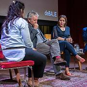 NLD/Amsterdam/20190630 - Paneldiscussie The Good Terrorist,, Robert Oey, Fatima Ezzarhouni en Hoessein