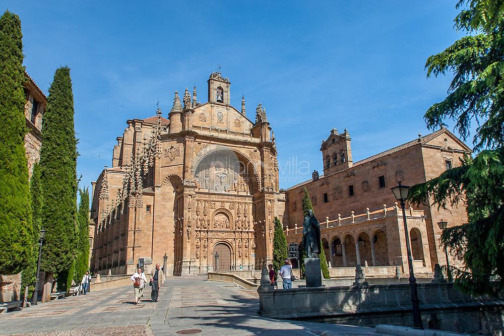 Portada del Convento de San Esteban, Salamanca ©Javier Abad / PILAR REVILLA