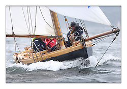 Day two of the Fife Regatta,Passage race to Rothesay.<br /> Ayrshire Lass, Paul Goss / Theo Rye, GBR, Gaff Cutter, Wm Fife 2nd, 1887<br /> <br /> * The William Fife designed Yachts return to the birthplace of these historic yachts, the Scotland's pre-eminent yacht designer and builder for the 4th Fife Regatta on the Clyde 28th June–5th July 2013<br /> <br /> More information is available on the website: www.fiferegatta.com