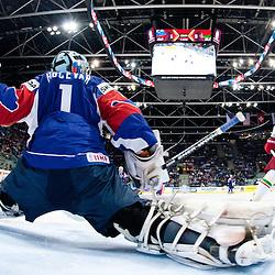 20110508: SVK, Ice Hockey - IIHF 2011 World Championship Slovakia, Slovenia vs Belarus