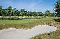 BRIELLE -  Hole 13. Kleiburg , golfbaan.  COPYRIGHT KOEN SUYK