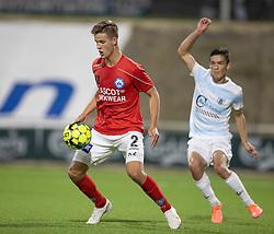 Rasmus Carstensen (Silkeborg IF) under kampen i 1. Division mellem FC Helsingør og Silkeborg IF den 11. september 2020 på Helsingør Stadion (Foto: Claus Birch).