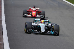 August 27, 2017 - Spa-Francorchamps, Belgium - Motorsports: FIA Formula One World Championship 2017, Grand Prix of Belgium, ..#44 Lewis Hamilton (GBR, Mercedes AMG Petronas F1 Team) (Credit Image: © Hoch Zwei via ZUMA Wire)