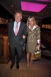 COUNTESS MAYA VON SCHONBURG and RICHARD NORTHCOTT at fundraising dinner and auction in aid of Liver Good Life a charity for people with Hepatitis held at Christies, King Street, London on 16th September 2009.