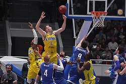 June 4, 2017 - Saint-Petersburg - Of The Russian Federation. Saint-Petersburg. Yubileyny sports Palace. Basketball. The VTB United League. The semi-final of VTB United League ''Zenit'' - ''Khimki''. The fifth match. 90:84. The victory of BC Khimki and the finals. (Credit Image: © Russian Look via ZUMA Wire)