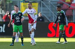 01-03-2015 NED: FC Utrecht - Feyenoord, Utrecht<br /> In de Galgenwaard voltrok zich een inspiratieloos duel en eindigde dan ook in 0-0 / /Jordy Clasie © #6, Ramon Leeuwin #3