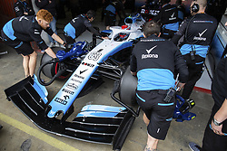 February 20, 2019 - Barcelona, Spain - 63 RUSSELL George (gbr), Williams Racing F1 FW42, action garage, box, during Formula 1 winter tests from February 18 to 21, 2019 at Barcelona, Spain - Photo  /  Motorsports: FIA Formula One World Championship 2019, Test in Barcelona, (Credit Image: © Hoch Zwei via ZUMA Wire)